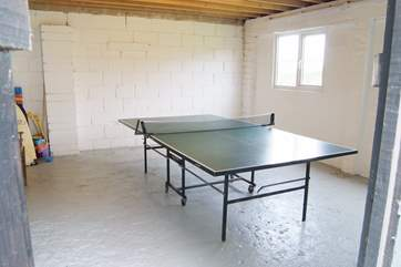 The games-room can be found to the rear of the house, fancy a game anyone?