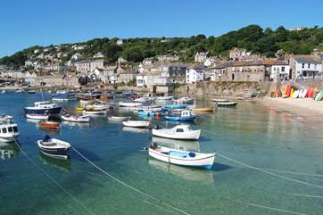 Mousehole is just four miles away.