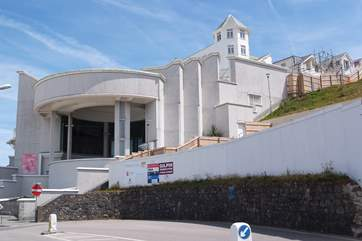The Tate Gallery, St Ives.