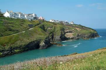 The exciting north coast is not far, such as Port Isaac.