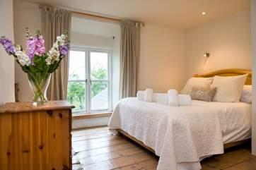 Bedroom 1, the first floor double bedroom.