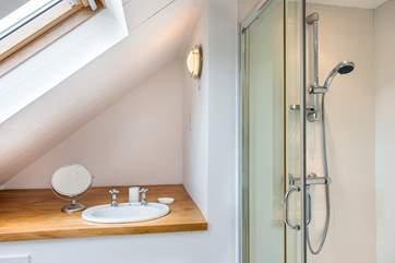The en-suite shower-room in Bedroom 4.