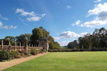 Somerset has a wealth of historic houses to visit. This is Montacute near Yeovil - an easy drive from Taunton.