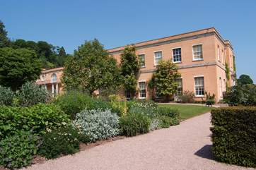 Killerton House and gardens is one of the nearest National Trust properties.