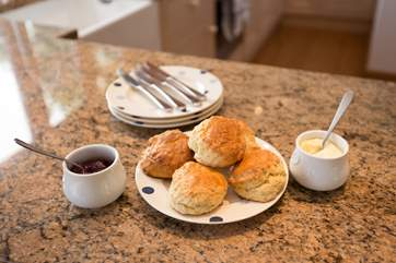 Perhaps you will be inspired by the Owner's prize winning homemade cream tea - a fabulous treat when you arrive.