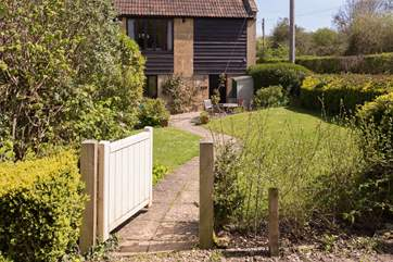 There is a private parking space down the driveway to the left and this is the gateway to your garden and front door.