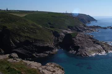 The stunning coastline in the far West.