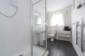The ensuite shower-room.