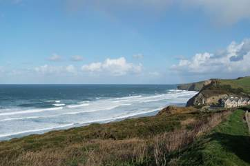 Watergate Bay is your nearest beach and is just down the road by car.