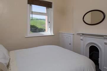 Bedroom 2 has beautiful countryside views.