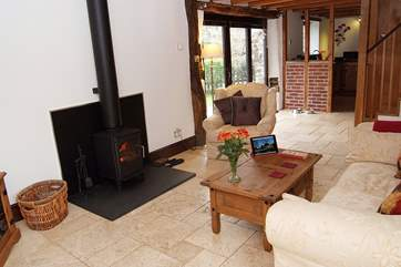 Dreamcatcher is very spacious for two and the wood-burner is a real treat.