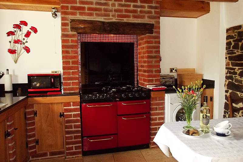 The kitchen-area is very well-equipped and will delight all cooks.