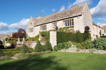 Somerset has a wealth of historic houses to visit - this is Lytes Cary Manor.