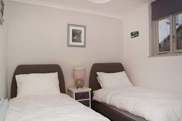 The twin bedroom (Bedroom 3).