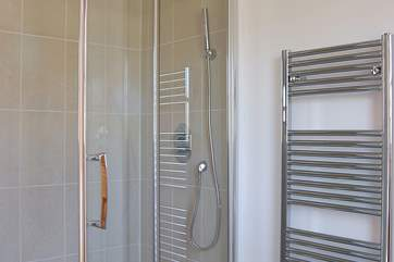 The double bedroom's shower-room includes a large double cubicle.