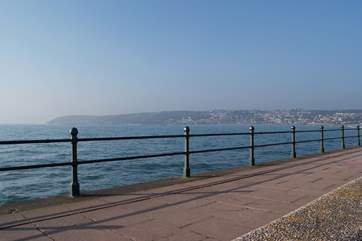 Penzance promenade is on your doorstep.