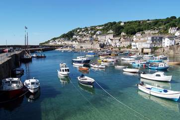 Mousehole is just a three mile walk along the footpath.