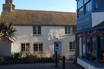 The Cottage is set in the heart of Marazion.