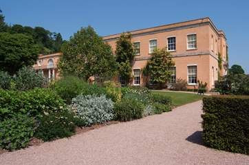 Killerton House and gardens – the closest National Trust property to visit.
