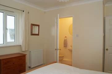 Ground floor Bedroom 1 has an en suite shower-room.