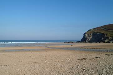 Porthtowan beach is just a few minutes' drive from Portreath.