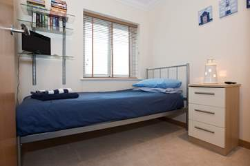 Bedroom 3 has a single bed.