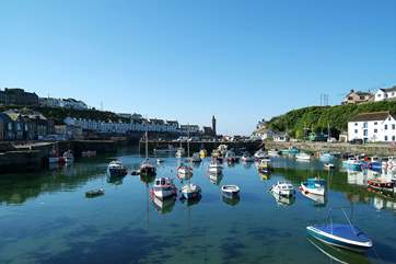 Porthleven's picturesque harbour is just a short stroll from the cottage.