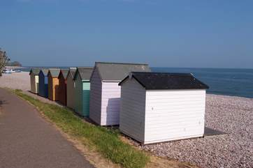 Budleigh Salterton is another lovely little coastal town on the Jurassic Coast.