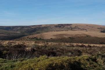 The open moorland of Exmoor is right on your doorstep.