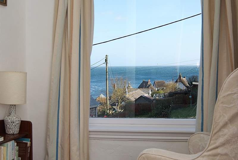 ....and the perfect spot to sit and read a book - though you might be distracted by the view!