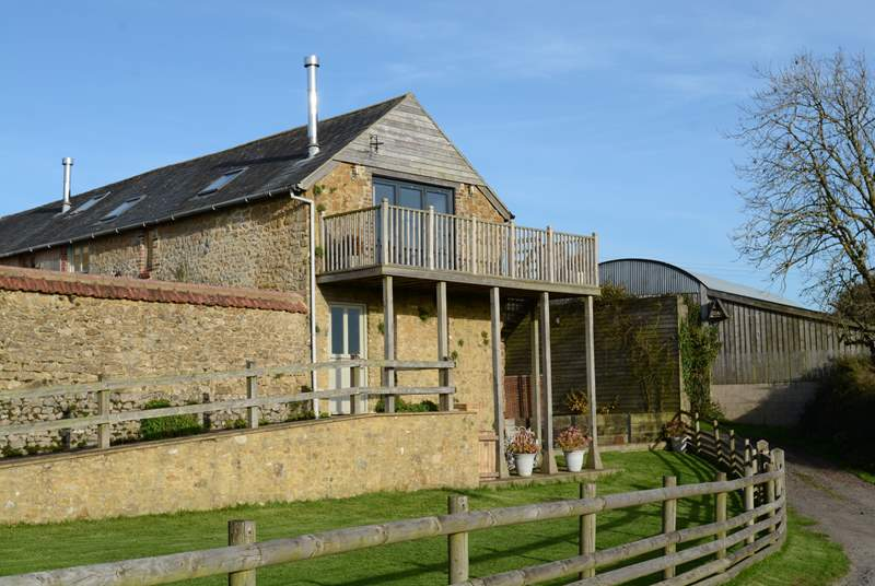 Lottie's Loft is a unique first floor barn conversion with stunning rural views.