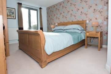 Bedroom 1 has sea views.