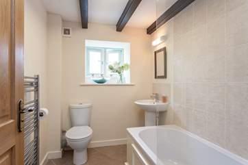 The bathroom, on the ground floor.