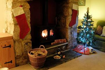 Why not spend Christmas in this lovely cosy cottage.