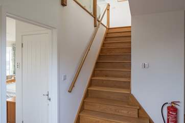 Large entrance hall which links nicely to all the ground floor rooms. Waiting for you up the stairs is the beautiful open plan living areas.