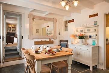 The cottage has been attractively styled throughout,whilst maintaining the overall charm and character