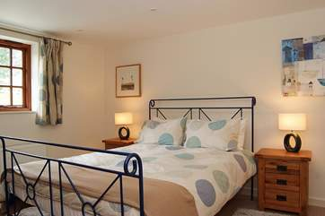 Bedroom 1 is on the ground floor and has a 5' bed and en suite shower-room.