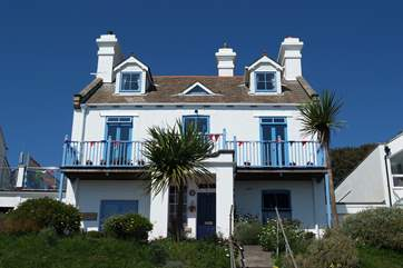 The Old Coastguard Station is a ground floor apartment.