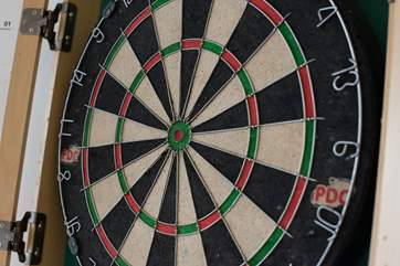 Bull's eye! Who's for a game of darts?