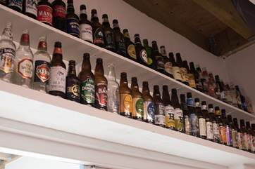 How many different Cornish beers can you spot?