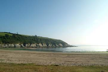 Maenporth beach is less than two miles away and perfect for rock-pooling and swimming.