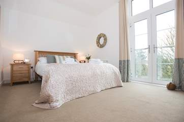 The master bedroom (Bedroom 2).