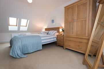 Bedroom 2 is on the second floor.