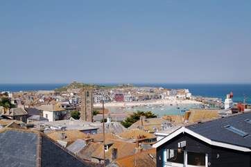 Picturesque St Ives is approximately five miles away.
