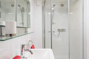The en-suite shower room