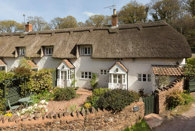 Brookside Cottage is a beautiful period property in a tranquil village setting, right on the edge of the Quantock Hills Area of Outstanding Natural