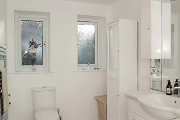 The en suite shower-room to Bedroom 2.
