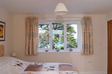 Also at the front of the house, Bedroom 1 has the same wonderful sea views as Bedroom 2.