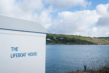 The old Lifeboat House is now a great local fish and chip and seafood restaurant.
