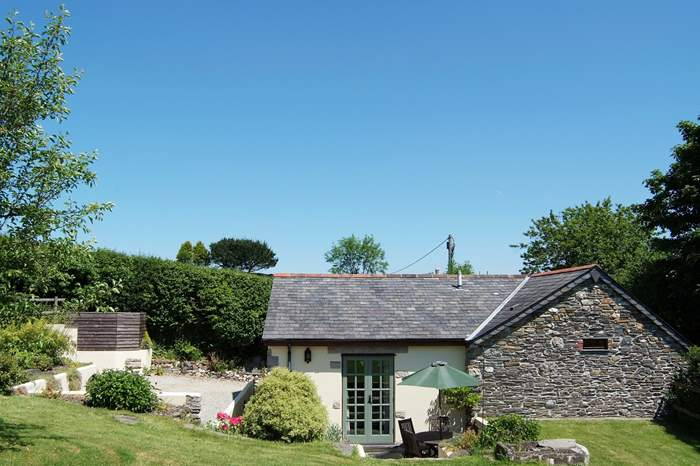 Cottages near The Looe Valley Line